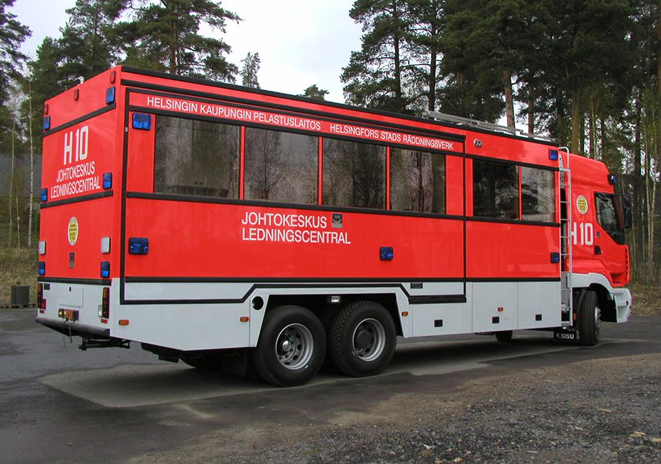 Saurus Johtokeskusauto