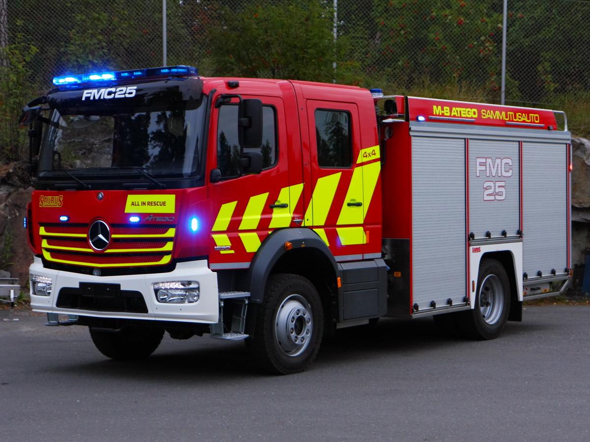 Saurus FMC25 4x4