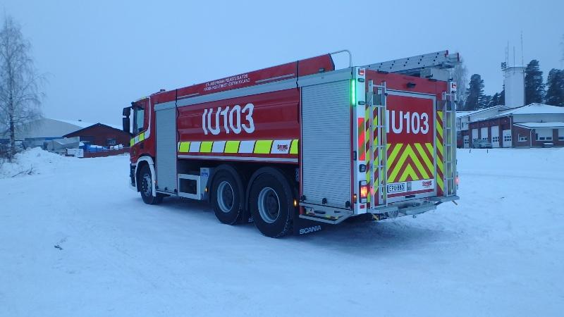 Säiliöauto Itä-Uudenmaan pelastuslaitokselle - Saurus